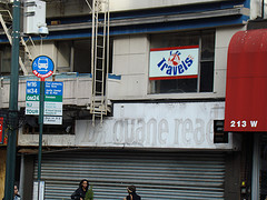 Picture Of The Sign For The Duane Reade