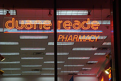 Neon Lights Of Duane Reade Pharmacy