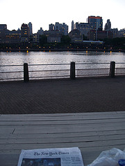 The East River Is A Tidal Strait In New York City.