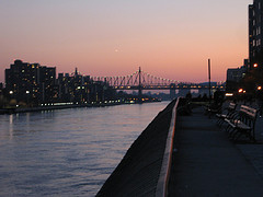 River The Way Of People Walking On East River