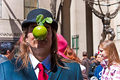One Of The Participants In The Easter Parade In Manhattan