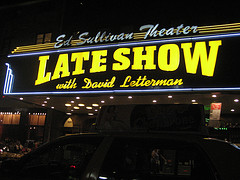 View Of The Ed Sullivan Theater From The Front