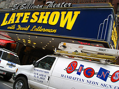 The Famous Ed Sullivan Theater Where Letterman Records His Show