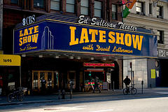 Ed Sullivan Theatre With The Late Show.