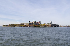 Ellis Island In The New York Harbor; A Facility Used From 1892 To 1954.