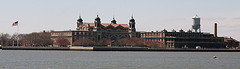 A Perfectly Sunny Day To Look Over At Ellis Island.