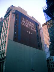 View Of The Emigrant Savings Bank, New York City's Oldest Savings Bank