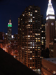 The Empire State Building Is Beautiful At Night.