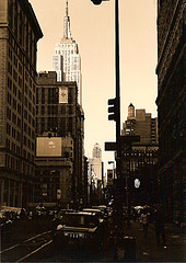 The Empire State Building Stands 104 Stories And Is The Tallest In The City.