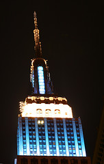 View Of The Top Of The Empire State Building At Night