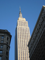 The Empire State Building Is A Staple To The New York City Scape.