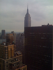 A View Of Several Buildings Including Ernst & Young.