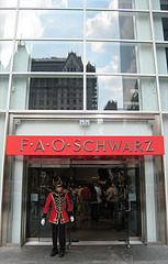 "FAO Schwarz, The Upscale Toy Store Featured In The 1988 Movie ""Big"""