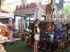 Stuffed Animal Selection At FAO Schwarz