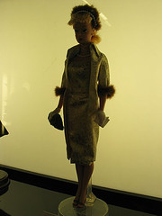 Vintage Barbie Doll Displayed At FAO Schwarz