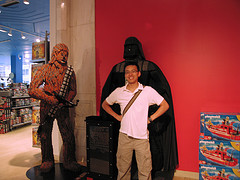Welcome To The Dark Side From FAO Schwarz.