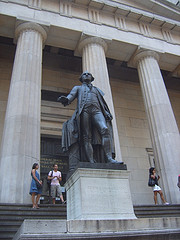 Federal Hall Was The Site Of George Washington's Inauguration As The First President Of The United States.