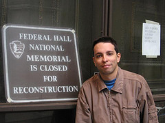 Me Outside The Federal Hall, Unfortunately It Was Closed