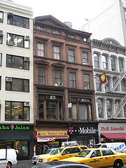 One Of The Few Surviving Brownstone Buildings On Fifth Avenue