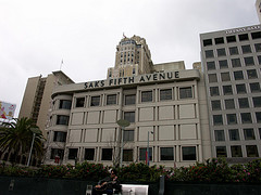 One Of Saks Fifth Avenue 54 Stores, This One In San Francisco, Ca.