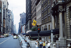 View Of The Buildings Along The Famous Fifth Avenue