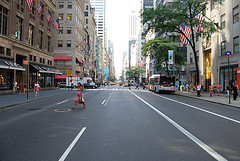 Who Ever Said Jay-walking On Fifth Avenue Was Dangerous?