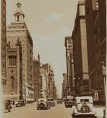 Fifth Avenue In Manhattan, New York City, Circa 1933.