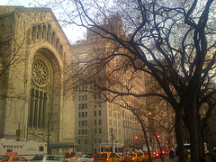 Usual Traffic Jam In New York City: Fifth Avenue