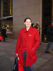 No Better Place For A Picture Than Fifth Avenue. I Think She Agrees.