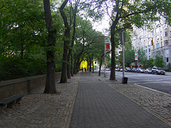 Fifth Avenue Runs Along The East Side Of Central Park