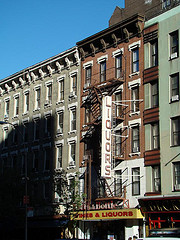 A Small Liquor Store On First Avenue (Manhattan)