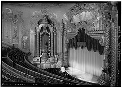 View of Auditorium from balcony of Fox Theatre, Flatbush Avenue