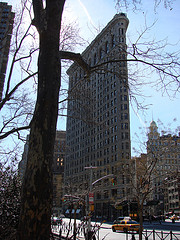 Flatiron Building From About A Block Away