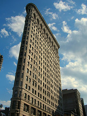 Only In New York Do You Have A Flatiron Building.