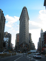 View Of Flatiron Building From The Front