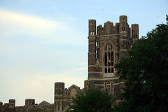The Beautiful Fordham University As Seen From The Outside In The Summer