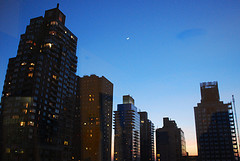 A View Of Fordham University At Sunset
