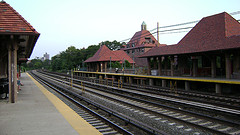 Forest Hills Train Station Outside Of Central Park