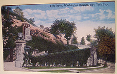 A Perfect Post Card Picture Of Fort Washington In New York.
