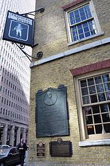 Fraunces Tavern, Where General George Washington Bade A Triumphant Farewell To His Officers
