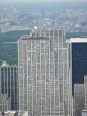 The Gem Building With A View Of Central Park And Northern Manhattan In The Background.