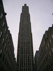 The Gem Building, Known As The Rack Building Until 1988, Towers Over Rockefeller Center