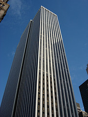 The General Motors Building, New York,  Occupying One Full City Block And 50 Stories Tall