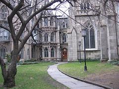 Take A Walk Down This Path To Grace Church.