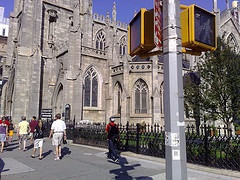 The Grace Church In New York Is Giant.