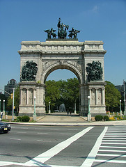 Look At The Details Here At Grand Army Plaza.