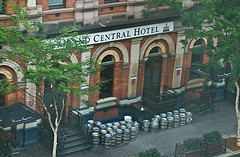 Looking Down On The Grand Central Hotel