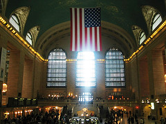 Inside Grand Central Terminal With Its Buzzing Masses Of People