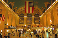 The Lobby Of Grand Central Station Located In Midtown Manhattan At 42nd Street And Park Avenue.