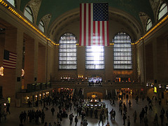 Grand Central Terminal's Grand Concourse, A Familiar Scene To American Movie Lovers
